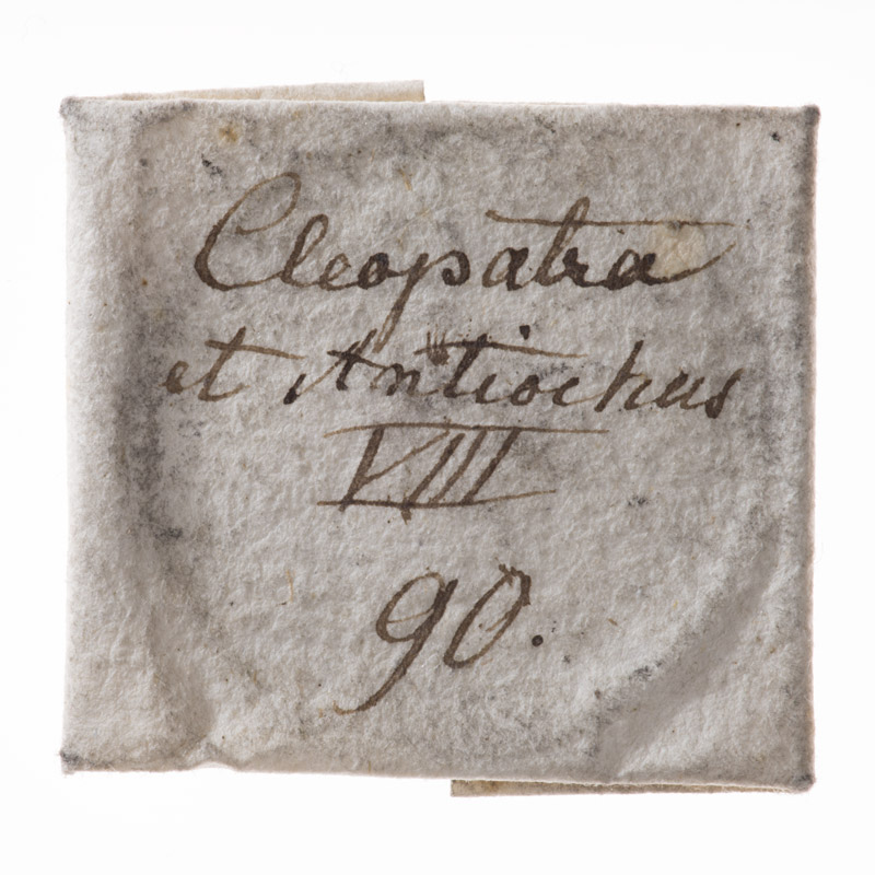 CWB-WM-01, obverse of the parchment wrapper