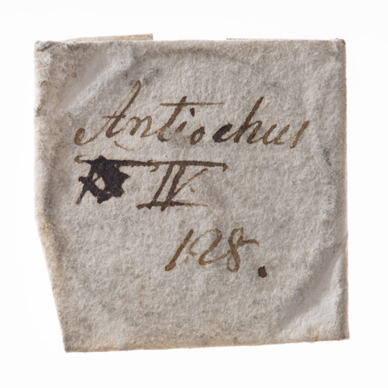 CWB-WM-02, obverse of the parchment wrapper