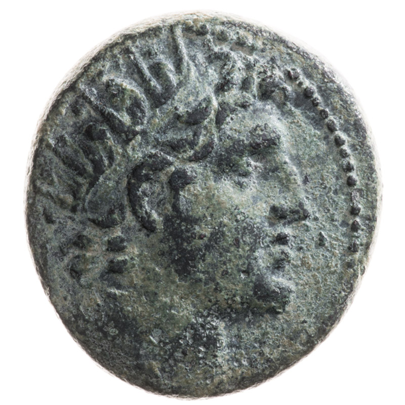 Petr Vesely Collection, coin AX1-AE-01 , obverse